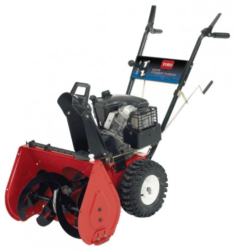 snowblower Toro 38607 Characteristics, Photo