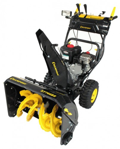 snowblower Champion ST766BS Characteristics, Photo