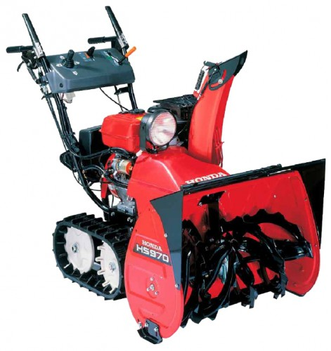snowblower Honda HS970K1ETS Characteristics, Photo