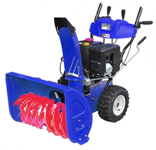 snowblower MasterYard MX 18528RE Characteristics, Photo