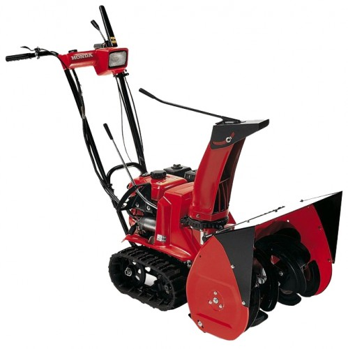 snowblower Honda HSS655ETS Characteristics, Photo