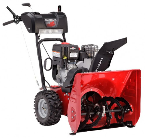 snowblower Canadiana CL61900R Characteristics, Photo