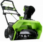 Greenworks 40V snowblower electric single-stage Photo