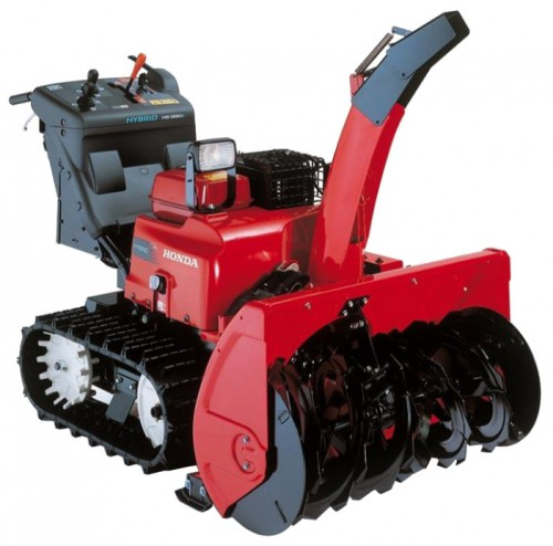 snowblower Honda HSM1390IKZE Characteristics, Photo