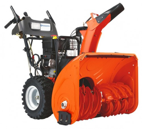snowblower Husqvarna ST 261E Characteristics, Photo