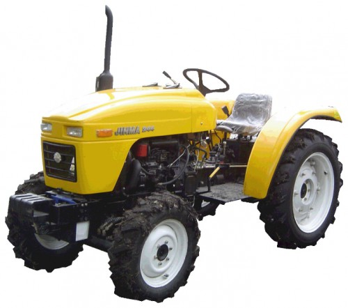 mini tractor Jinma JM-244 Characteristics, Photo